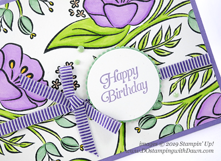 Stampin' Up! All That You Are stamp set card  shared by Dawn Olchefske #dostamping #howdshedothat #stampinup #handmade #cardmaking #stamping #stampinblends #papercrafting #birthdaycards