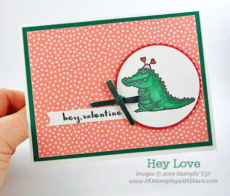 Stampin' Up! Hey Love, Valentine's Day cards shared by Dawn Olchefske #dostamping #howdshedothat #stampinup #handmade #cardmaking #stamping #papercrafting #valentinesdaycards