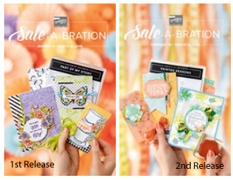 2019 Stampin' Up! Sale-a-Bration - Release 1 and 2 #dostamping #stampinup #saleabration
