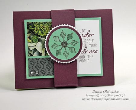 Paper Pumpkin Grown With Kindness Blop Hop | Dawn Olchefske dostamping #stampinup #handmade #cardmaking #stamping #diy #papercrafting #paperpumpkin #cardkits