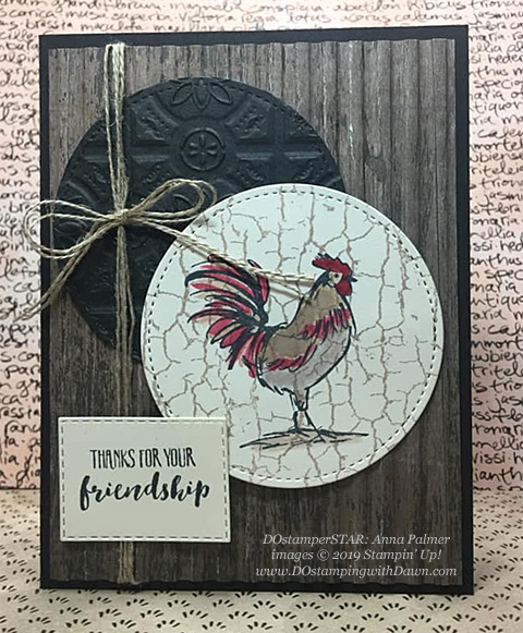 DOstamperSTARS share their creations!   #dostamping  #stampinup #handmade #cardmaking #stamping #papercrafting#DOstamperSTARS (Anna Palmer - SAB Home to Roost)