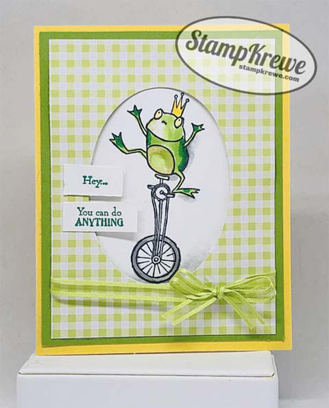 Stampin' Up! Sale-A-Bration Hoppy Together card shared by Dawn Olchefske #dostamping #howdshedothat #stampinup #handmade #cardmaking #stamping #papercrafting (Aimee Gravelle)