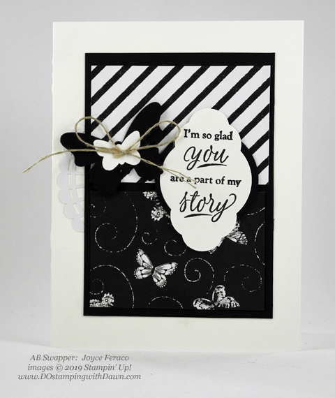 Stampin' Up! Botanical Butterfly Designer Series Paper shared by Dawn Olchefske #dostamping #howdshedothat #stampinup #handmade #cardmaking #stamping #papercrafting(Joyce Feraco)