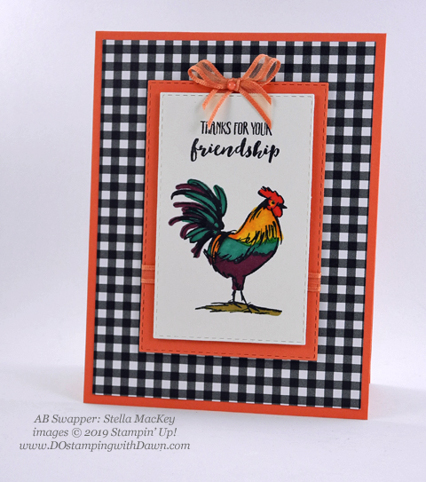 Stampin' Up! Home to Roost shared by Dawn Olchefske #dostamping #howdshedothat #stampinup #handmade #cardmaking #stamping #papercrafting (Stella MacKay)