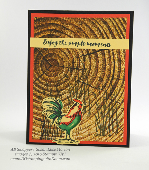 Stampin' Up! Home to Roost shared by Dawn Olchefske #dostamping #howdshedothat #stampinup #handmade #cardmaking #stamping #papercrafting (Susan Elise Morton)