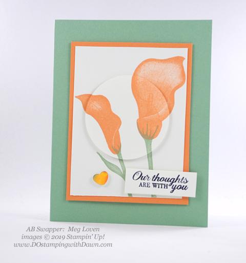 Stampin' Up! Lasting Lily shared by Dawn Olchefske #dostamping #howdshedothat #stampinup #handmade #cardmaking #stamping #papercrafting(Meg Loven)