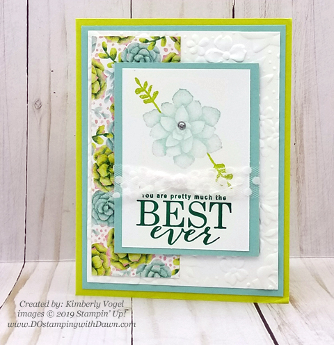 Sale-a-Bration Painted Seaons samples product shared by Dawn Olchefske #dostamping #howdshedothat #stampinup #handmade #cardmaking #stamping #papercrafting #paintedseasons - Kimberly Vogel