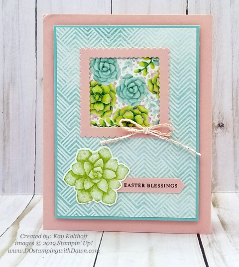 Sale-a-Bration Painted Seaons samples product shared by Dawn Olchefske #dostamping #howdshedothat #stampinup #handmade #cardmaking #stamping #papercrafting #paintedseasons - Kay Kalthoff