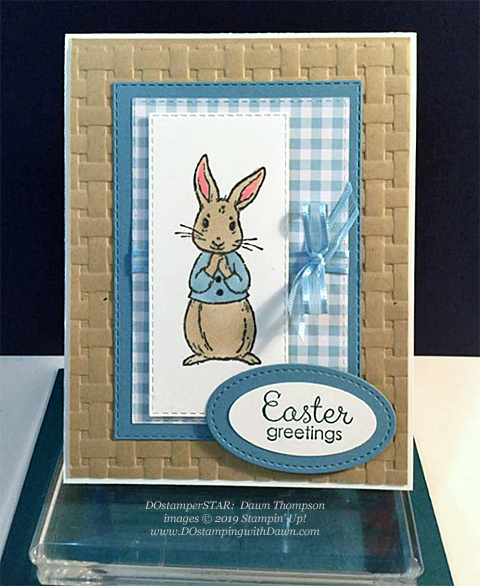Fabled Friends - DOstamperSTARS Spring & Easter cards shared by Dawn Olchefske #dostamping #dostamperSTARSt #stampinup #handmade #cardmaking #stamping #papercrafting #eastercards - Dawn Thompson