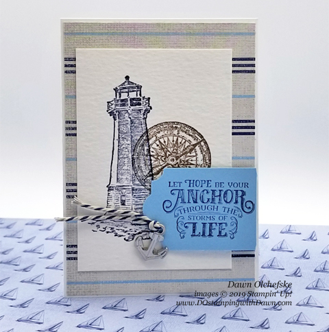 Come Sail Away Suite Make & Take from OnStage, shared by Dawn Olchefske #dostamping #stampinup #cardmaking #stamping #papercrafting  #ONSTAGE2019 #minneapolisonstage2019