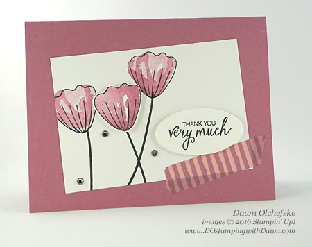 Bunch of Blossoms stamp set Stampin' Up! Last chance list, retired items going fast.  #dostamping #retired list #stampinup  , Shop here while supplies last: https://www.stampinup.com/ecweb/category/100600/last-chance-products?dbwsdemoid=61500