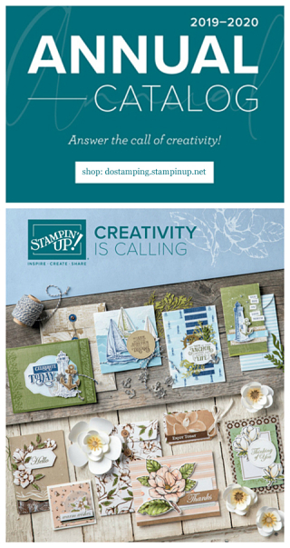 Shop now: 2019-2020 Stampin' Up! Annual Catalog with Dawn Olchefske at http://bit.ly/shopwithdawn #dostamping ##stampinup #cardmaking #stamping #papercrafting