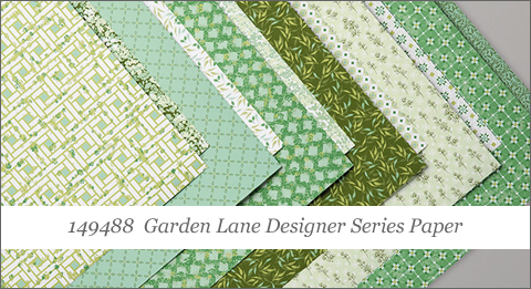 Garden Lane Designer Series Paper (149488) Shop with Dawn O at http://bit.ly/shopwithdawn