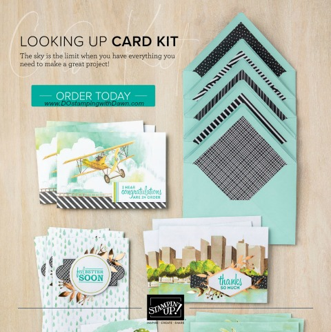 Stampin' Up! Experience Creativity Brochure- Looking Up Card Kit #dostamping #stampingup #cardkits