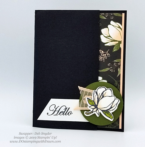 6 stunning Morning Magnolia samples - Magnolia Lane Suite from Stampin' Up! shared by Dawn Olchefske  #dostamping #stampinup #handmade #cardmaking #stamping #papercrafting  #morningmagnolia (Deb Snyder)