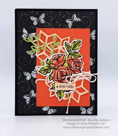 DOstamperSTARS share their creations!   #dostamping  #stampinup #handmade #cardmaking #stamping #papercrafting#DOstamperSTARS (Beverly Jackson - Petal Palette)