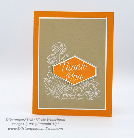 DOstamperSTARS share their creations!   #dostamping  #stampinup #handmade #cardmaking #stamping #papercrafting #DOstamperSTARS (Nicole Winkelman - Accented Blooms)