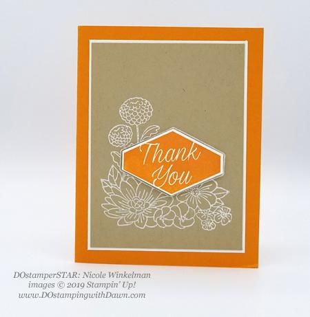 DOstamperSTARS share their creations!   #dostamping  #stampinup #handmade #cardmaking #stamping #papercrafting#DOstamperSTARS (Nicole Winkelman - Accented Blooms)