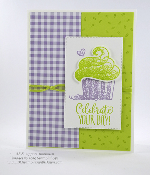 Sale-a-Bration Hello Cupcakes shared by Dawn Olchefske #dostamping #stampinup #handmade #cardmaking #stamping #papercrafting #hellocupcake #birthdaycards-Unknown