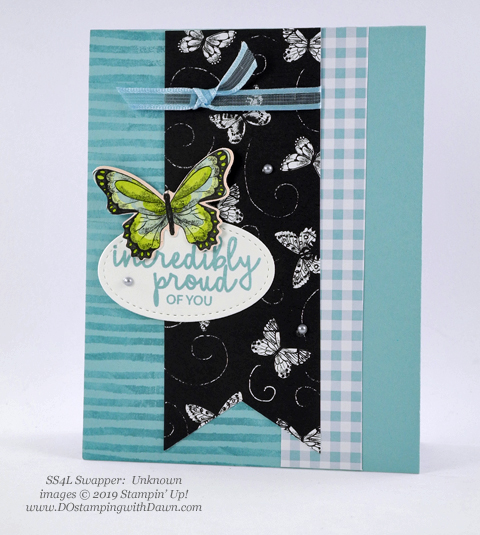 Stampin' Up! Botanical Butterfly Designer Series Paper shared by Dawn Olchefske #dostamping #howdshedothat #stampinup #handmade #cardmaking #stamping #papercrafting (Unknown)