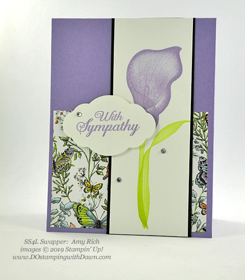 Stampin' Up! Lasting Lily shared by Dawn Olchefske #dostamping #howdshedothat #stampinup #handmade #cardmaking #stamping #papercrafting (Amy Rich)