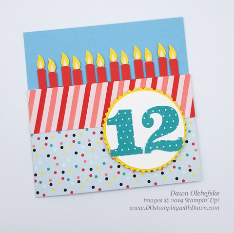 Paper Pumpkin Poppin' Birthday Blop Hop | Dawn Olchefske dostamping #stampinup #handmade #cardmaking #stamping #diy #papercrafting #paperpumpkin #cardkits