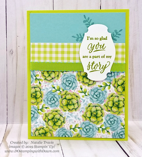 Sale-a-Bration Painted Seaons samples product shared by Dawn Olchefske #dostamping #howdshedothat #stampinup #handmade #cardmaking #stamping #papercrafting #paintedseasons - NatalieTravis