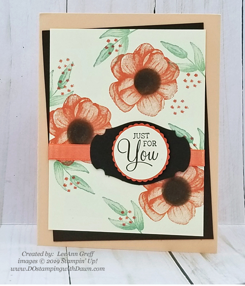 Sale-a-Bration Painted Seaons samples product shared by Dawn Olchefske #dostamping #howdshedothat #stampinup #handmade #cardmaking #stamping #papercrafting #paintedseasons - LeeAnn Greff