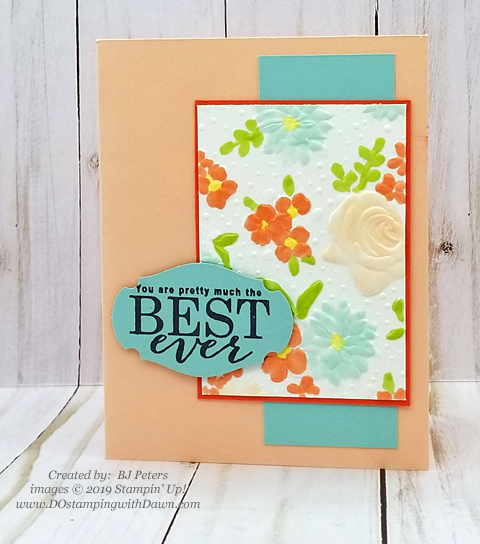 Sale-a-Bration Painted Seaons samples product shared by Dawn Olchefske #dostamping #howdshedothat #stampinup #handmade #cardmaking #stamping #papercrafting #paintedseasons - BJPeters