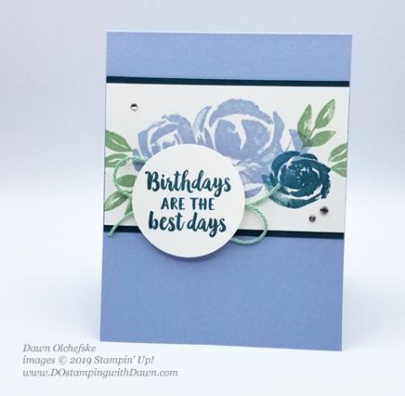 Easy Beautiful Friendship card created by Dawn Olchefske for Stamping with the STARS #DSC320 #dostamping #stampinup #handmade #cardmaking #stamping #papercrafting #DOstamperSTARS