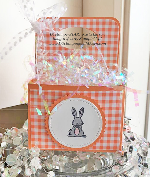 Best Bunny - DOstamperSTARS Spring & Easter cards shared by Dawn Olchefske #dostamping #dostamperSTARSt #stampinup #handmade #cardmaking #stamping #papercrafting #eastercards - Karla Larson