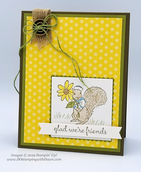 Stampin' Up! Fable Friends cards shared by Dawn Olchefske #dostamping #howdshedothat #stampinup #handmade #cardmaking #stamping #papercrafting