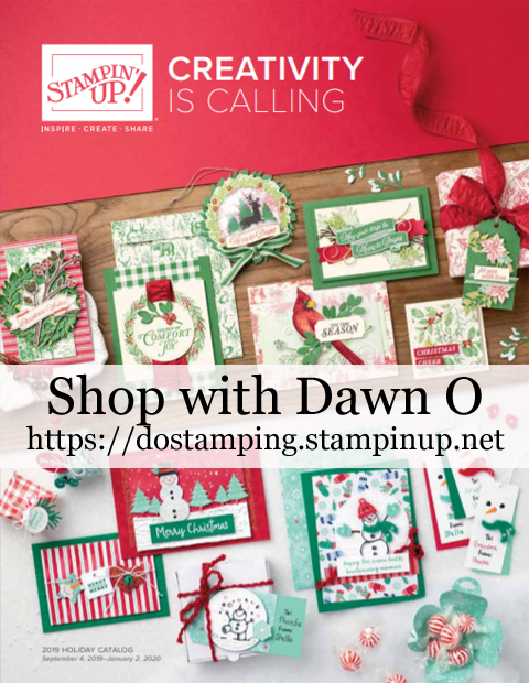 Stampin' Up! 2019 Holiday Catalog - live September 4,2019 thru January 2, 2020  |  shop with Dawn O @ http://bit.ly/DO2019Holiday #dostamping #stampinup #papercrafting #christmascards