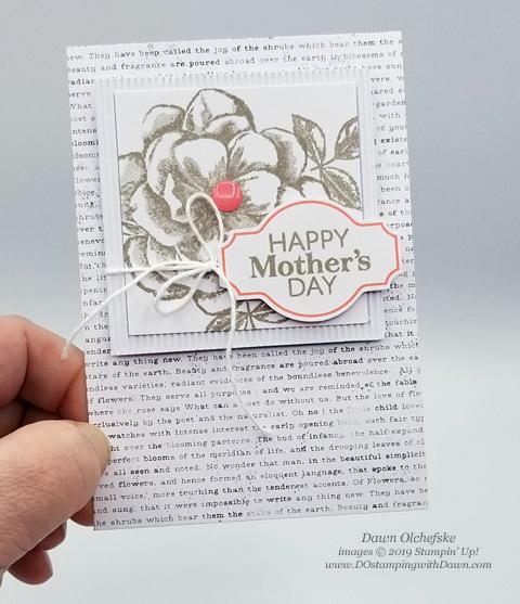Paper Pumpkin Sentimental Rose Blop Hop | Dawn Olchefske dostamping #stampinup #handmade #cardmaking #stamping #diy #papercrafting #paperpumpkin #cardkits