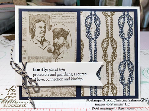 Stampin' Up! Designer Series Paper Sale featuring Come Sail Away Designer Series Paper shared by Dawn Olchefske #dostamping #stampinup #papercrafting (Christine Salmon)