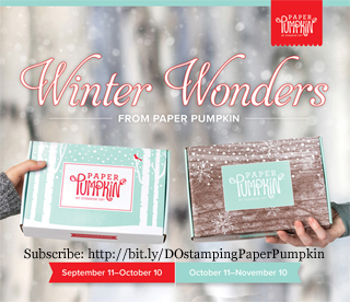 Paper Pumpkin Oct Nov 2019 - Winter Wonder Sneak Peek, subscribe with Dawn Olchefske by October10 at http://bit.ly/DOstampingPaperPumpkin #paperpumpkin #christmascards #dostamping #stampsinthemail
