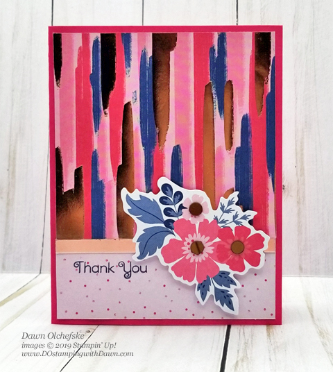 4 Flip It cards made with the Everything is Rosy Product Medley kit (available May 2019 only) shared by Dawn Olchefske #dostamping #howdshedothat #stampinup #cardmaking #papercrafting#everythingisrosy #flipitcards