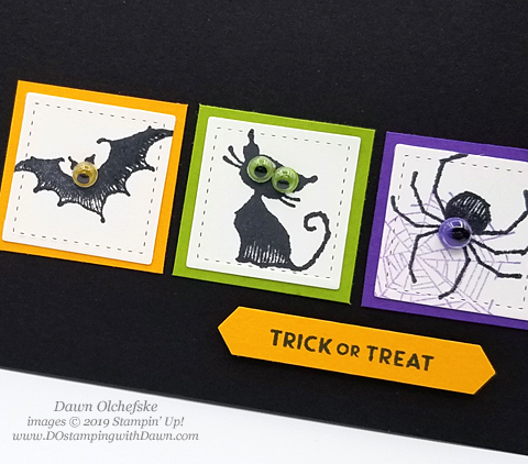 If you're looking for some quick & spooky Halloween card ideas, check out these Stampin' Up! Wonderfully Wicked cards shared by Dawn Olchefske #dostamping #howdshedothat #stampinup #handmade #cardmaking #stamping #papercrafting #halloweencards