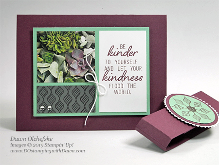 Last Chance Fresh Fig 2017-2019 In Color - Paper Pumpkin Grown With Kindness Blop Hop | Dawn Olchefske dostamping #stampinup #handmade #cardmaking #stamping #diy #papercrafting #paperpumpkin #cardkits #lastchance