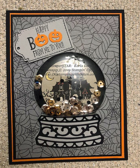 15 Halloween/Fall inspired projects created by DOstamperSTARS shared by Dawn Olchefske #dostamping #howdshedothat #stampinup #handmade #cardmaking #stamping #papercrafting (Karla Larson)