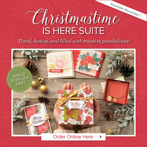 Stampin' Up! Christmastime is Here Suite card by Dawn Olchefske #dostamping #stampinup #handmade #cardmaking #stamping #papercrafting