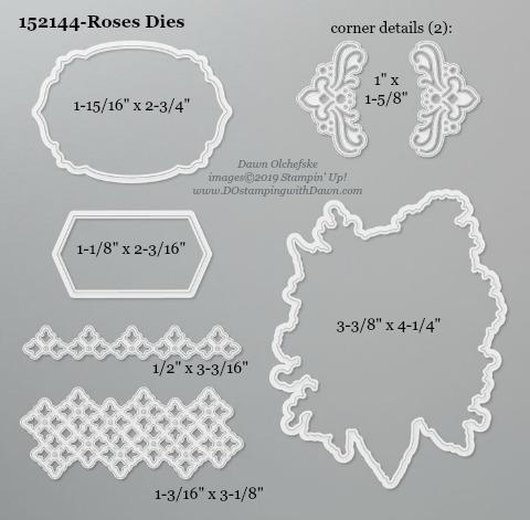 DO-Roses Dies