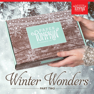Paper Pumpkin Nov 2019 - Winter Wonder Sneak Peek, subscribe with Dawn Olchefske by November 10th at http://bit.ly/DOstampingPaperPumpkin #paperpumpkin #christmascards #dostamping #stampsinthemail