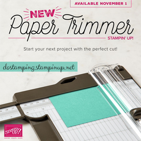 Get your NEW Stampin' Up! Paper Trimmer (152392) http://bit.ly/shopwithdawn #dostamping #stampinup #papertrimmer #papercrafting