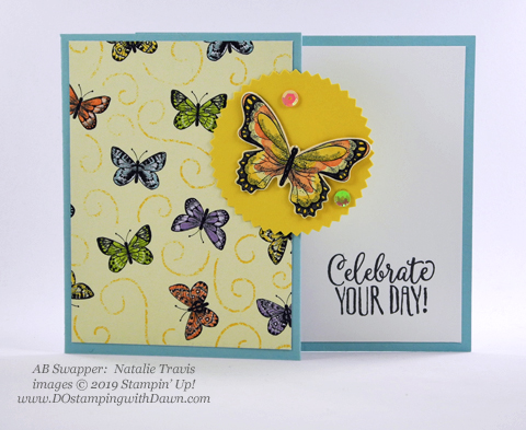 Stampin' Up! Botanical Butterfly Designer Series Paper shared by Dawn Olchefske #dostamping #howdshedothat #stampinup #handmade #cardmaking #stamping #papercrafting (Natalie Travis)