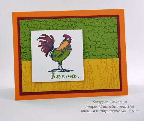 Stampin' Up! Home to Roost shared by Dawn Olchefske #dostamping #howdshedothat #stampinup #handmade #cardmaking #stamping #papercrafting  (Unknown)