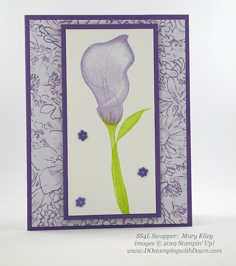 Stampin' Up! Lasting Lily shared by Dawn Olchefske #dostamping #howdshedothat #stampinup #handmade #cardmaking #stamping #papercrafting (Mary Kiley)