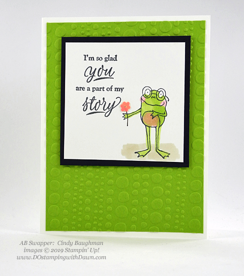 Stampin' Up! So Hoppy Together stamp set shared by Dawn Olchefske #dostamping #howdshedothat #stampinup #handmade #cardmaking #stamping #papercrafting (Cindy Baughman)