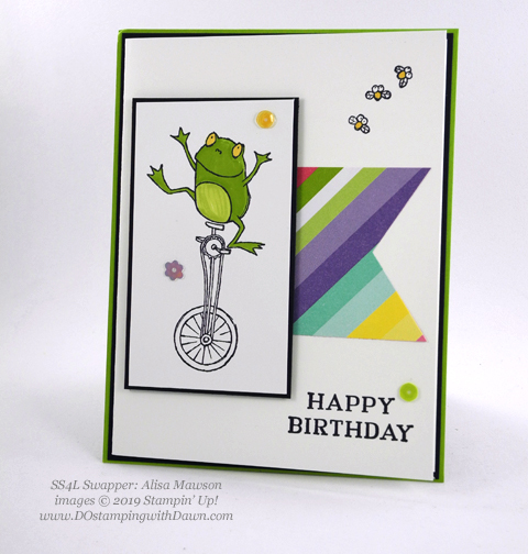 Stampin' Up! So Hoppy Together stamp set shared by Dawn Olchefske #dostamping #howdshedothat #stampinup #handmade #cardmaking #stamping #papercrafting (Alisa Mawson)