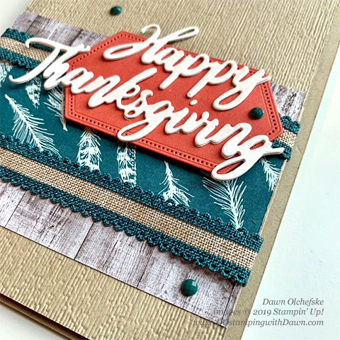 Stampin' Up! A Word for Everything Bundle, Gather Together stamp set and Come to Gather Designer Series Paper shared by Dawn Olchefske #dostamping #howdshedothat #stampinup #handmade #cardmaking #stamping #papercrafting